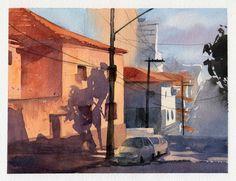 My Paintings by Julia Bax, via Behance