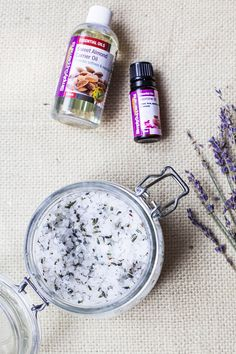 Simply Supplements Review - Jasmine & Lavender Salt Scrub with Almond Oil