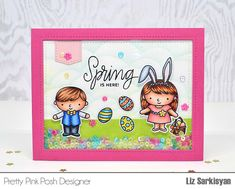 Create For Family and Friends: Pretty Pink Posh New Release Blog Hop