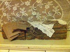 DIY Burlap and Lace Mason Jar Kit for Wedding Head Table