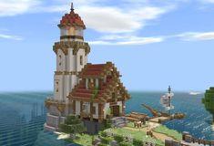 Minecraft Medieval Village, Minecraft Shops, Minecraft Mansion, Minecraft Castle, Minecraft House Designs, Cool Minecraft, Minecraft Creations, Minecraft Crafts, Minecraft Buildings