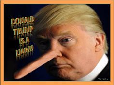 DONALD TRUMP IS A LIAR!!!