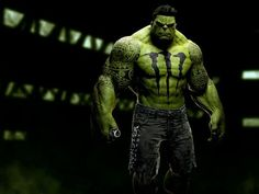 The Hulk Brought to you by 'Monster Energy Drink' -Images courtesy of Roberto Vergati Santos