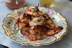 Char-Grilled Chili Shrimp by andrewzimmerman #Shrimp #Chili #Grilling