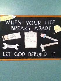 Church Bulletin Board via Trudy's World
