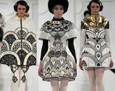 London Graduate Fashion Week   Print & Pattern Highlights A/W 2012/13 | catwalks