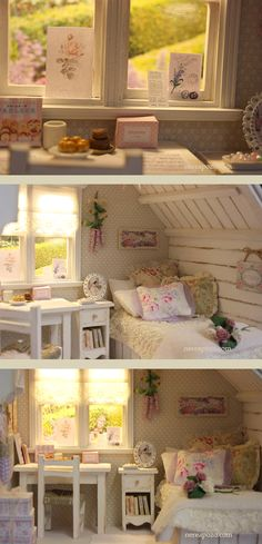 "Nerea Pozo Art: ♥ Diorama ""Lavender Memories"" ♥"