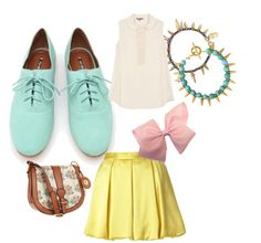 Ohhh emmm gee shoes please! adore these colors but not together. Oxford Shoes Outfit, Summer Wardrobe, Cute Shoes, Boudoir, Naked, Cute Outfits, Pastel, Ootd, One Piece