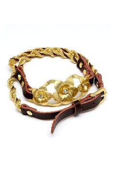 Golden Blossom Bracelet