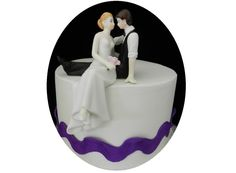 Amazon.com: Romantic Look of Love Wedding Cake Topper: Kitchen & Dining
