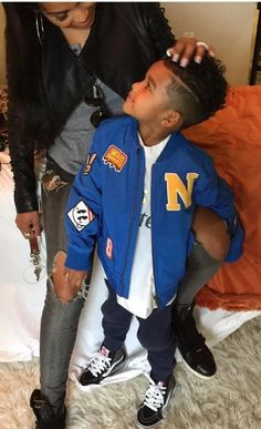 Like what you see? Follow me for more: @India16 Baby Boy Fashion, Kids Fashion, Cute Kids, Cute Babies, Baby Boy Swag, Afro, Mommy And Son, Lil Boy, Boy Hairstyles