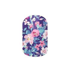 Jamberry Nail Wraps (22 NZD) ❤ liked on Polyvore featuring beauty products, nail care, nail treatments, ditsy floral and jamberry