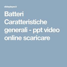 Batteri Caratteristiche generali - ppt video online scaricare