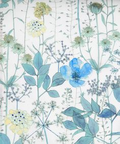Liberty 'Irma' design     Spring / Summer 2013 art fabric collection