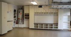 Good looking garage storage