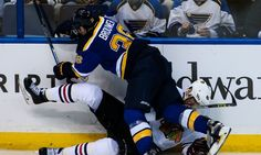 Blues' pound-em-til-they-drop philosophy is deeply flawed = Let's start with the obvious. St. Louis absolutely, positively, unconditionally had to have this game.  The Blackhawks were without top defenseman Duncan Keith, St. Louis was at home and the Blues had that suffocating.....