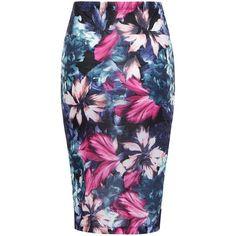 Yoins Yoins Pencil Midi Skirt ($10) ❤ liked on Polyvore featuring skirts, bottoms, black, knee length pencil skirt, stretchy pencil skirt, crop skirt, stretch midi skirt and mid-calf skirt