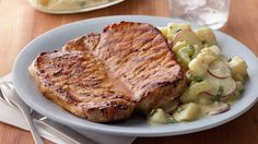 Pick pork chops for a honey-of-an-easy meat to grill!