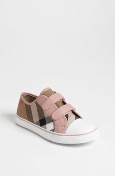 Burberry 'Pete' Sneaker (Baby, Walker, Toddler, Little Kid & Big Kid) available at #Nordstrom