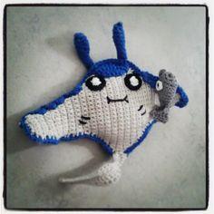 mantine en remoraid pokomon crochet patroon van internet van Christjan Bee