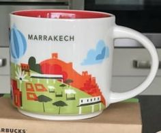Marrakech, Morocco | YOU ARE HERE SERIES | Starbucks City Mugs