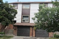 Condo Townhouse - 3+1 bedroom(s) - Mississauga - $309,900 Condos For Rent, Townhouse, Garage Doors, Shed, Outdoor Structures, Bedroom, Outdoor Decor, Home Decor, Lean To Shed