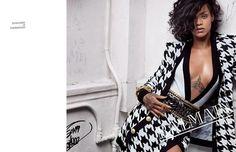 Rihanna is the Stunning Face of Balmain Spring 2014 #rihanna trendhunter.com