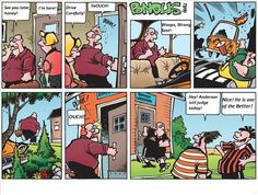 Hmmm, just read! COPYRIGHT: This cartoon does not belong to me All the work is done by Frode Oeverli!, all credits goes to him! Funny Cartoons, Comic Strips, My Childhood, Funny Pictures, Humor, Comics, Pinstriping, Funny Pics, Humour
