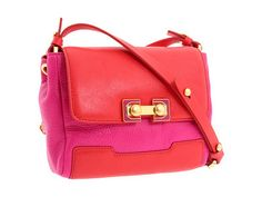 marc my marc jacobs memphis pouchette. love the pink/red colorblocking