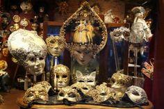 Venetian Masks. Venice, Italy.