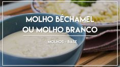 A receita vídeo de hoje é de um molho base muito importante na gastronomia: Molho Béchamel ou Molho Branco, como é conhecido aqui no Brasil.