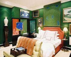 Lonny Magazine Dec 2010 | Photography by Patrick Cline; Interior Design by Miles Redd