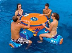 This would be so cool for summer Michigan Rummy!   WOW Aqua Table – $263
