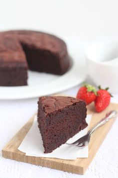 The Little Teochew: Singapore Home Cooking: Chocolate Buttermilk Cake - Again!