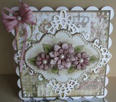 Designs by Marisa: Heartfelt Creations Thanks a Bunch Easel Card