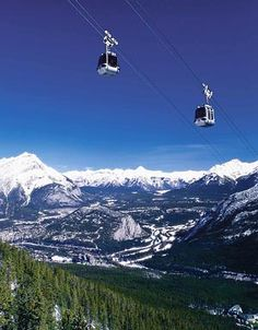 BUCKET LIST - Ride to the top of Sulphur Mountain to experience six mountain ranges from a bird's eye view. You'll see more mountains at once than you ever will in your lifetime. The view becomes extremely exciting as you climb 698 metres to an elevation of 2,292 metres.