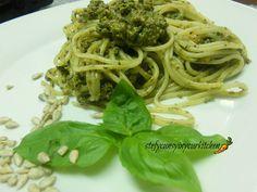 Spaghetti al pesto vegan
