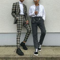 Trendy Moda Hombre Hipster Casual 56 Ideas - Fashion Tutorial and Ideas Fashion Mode, Korean Fashion, Fashion Outfits, Retro Fashion Mens, Mens Grunge Fashion, Classy Mens Fashion, Mens Fashion Trends 2019, Grunge Men, Retro Men