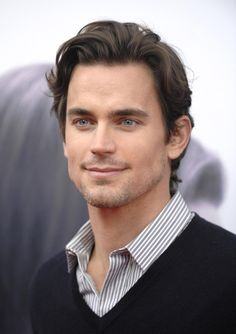 Matt Bomer - hairstyle for my husband who looks so handsome with long hair