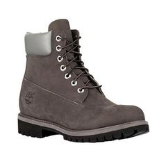 Timberland - Boots Icon 6-inch Premium Homme - Grey with Silver