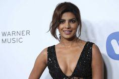 Priyanka Chopra attends The 57th Annual Grammy Awards Warner Music Group Grammy Celebration.