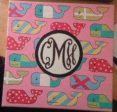 Vineyard Vines monogrammed canvas