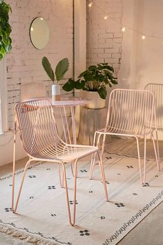Bistro Chair Set | Bohemian home decor, living room, boho bedroom inspiration