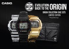 นาฬิกา G-SHOCKฉลองครบรอบ35ปีแห่งความสำเร็จด้วยCASIO G-SHOCK GMW-B5000Full Metal Collection CMG เฉลิมฉลอง 35 ปีแห่งความสำเร็จของCASIO G-SHOCKด้วยนาฬิการุ่นพิเศษเพื่อย้อนรำลึกถึงตัวเรือนทรงสี่เหลี่ยม สัญลักษ