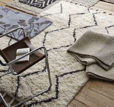 Totally and utterly in love with this rug from West Elm