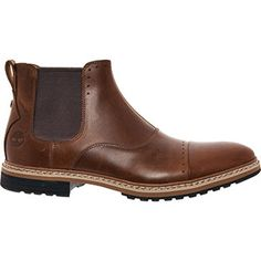 Timberland Chestnut Brown Leather Chelsea Boots