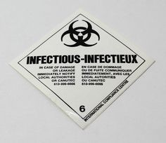 Infectious Substance Sticker 2 034 X 2 034 Adhesive Back 6 Zombie Stickers Zombie, Stickers, Adhesive, Convenience Store, Office Supplies, Ebay, Convinience Store, Sticker