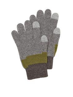 Perry Ellis Uneven Stripe Glove