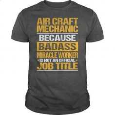 Awesome Tee For Air Craft Mechanic - #sleeve #crew neck sweatshirts. MORE INFO => https://www.sunfrog.com/LifeStyle/Awesome-Tee-For-Air-Craft-Mechanic-138449435-Dark-Grey-Guys.html?60505