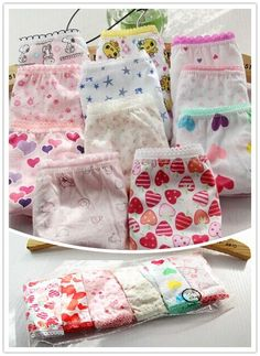 3pcs girl Panties baby girl pants underwear shorts kids briefs cotton panties #>=#>=#>=#>=#> Click on the pin to check out discount price, color, size, shipping, etc. Save and like it!